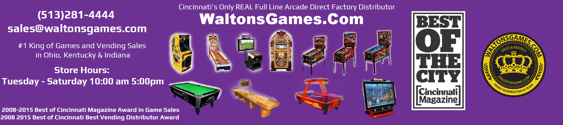 Welcome to WaltonsGames.Com